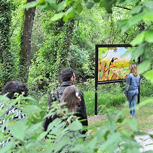 EXPOSITION DE PLEIN AIR ALAIN THOMAS